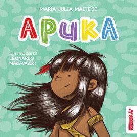 """Capa do livro """"Apuka"""""""