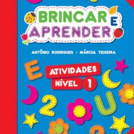 """Capa do Livro """"Brincar e Aprender - Atividades 1"""""""