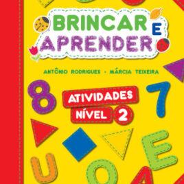 """Capa do Livro """"Brincar e Aprender - Atividades 2"""""""