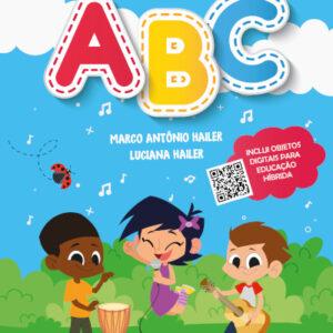 """Capa do livro """"A Bandinha do ABC"""""""