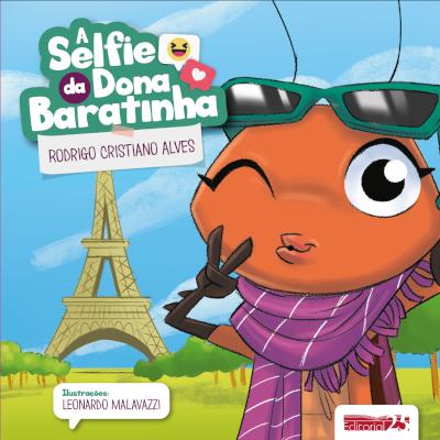 """Capa do livro """"A Selfie da Dona Baratinha"""""""