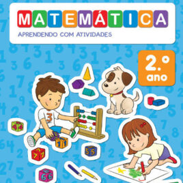 """Capa do Livro """"Matemática: Aprendendo com Atividades - 2º Ano"""""""