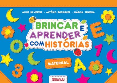 """Capa do Livro """"Brincar e Aprender Com Histórias - Maternal"""""""